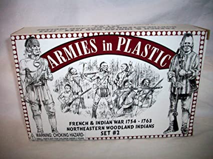 Inc Armies in Plastic Rogers Rangers French and Indian War Figures Offered By Classic Toy Soldiers