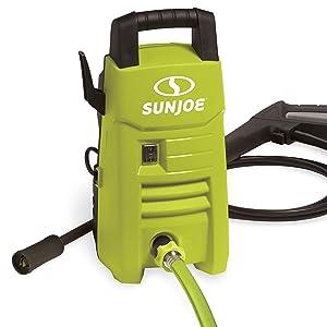 Sun Joe SPX201E 1350 PSI 1.45 GPM 10-Amp Electric Pressure Washer, Green