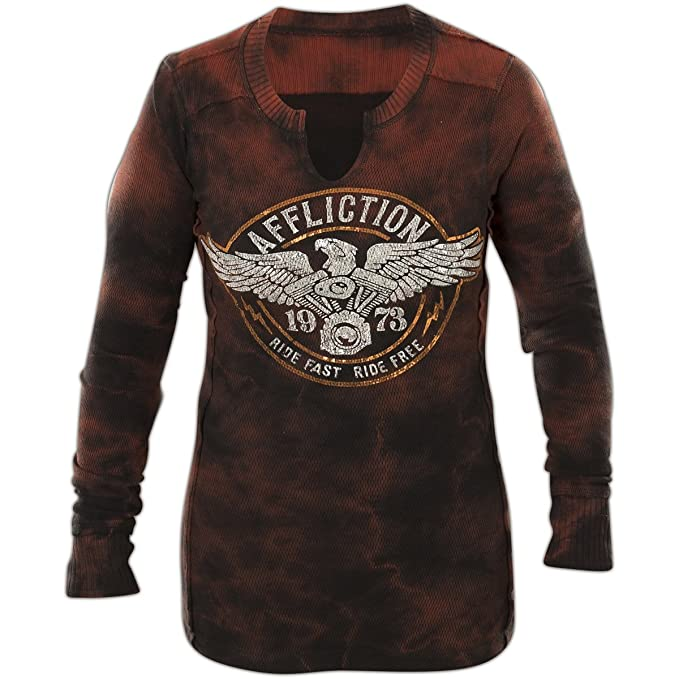 Mujeres Fast Ropa Amazon Affliction Ride es Accesorios Y 78q6E