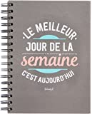 Mr. Wonderful WOA03195 Cahier avec citation en français
