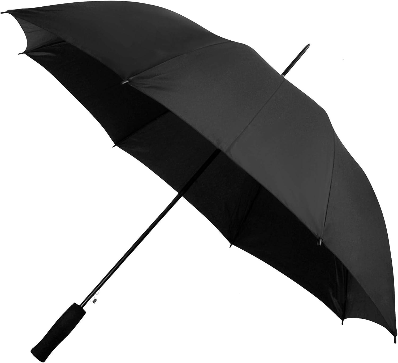 Falcone wave umbrella automatic 102 cm black