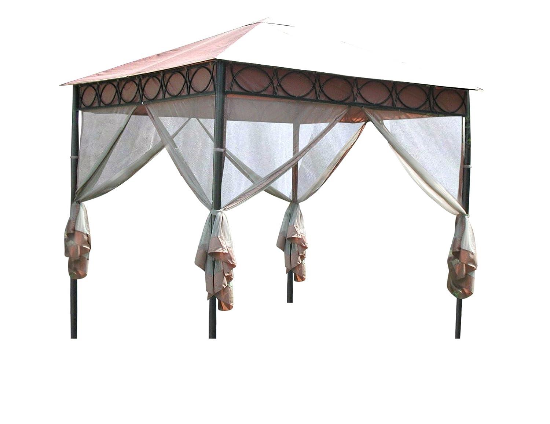 Leco Pavillon Safari, Größe 3 x 3 m, inklusive Moskitonetze