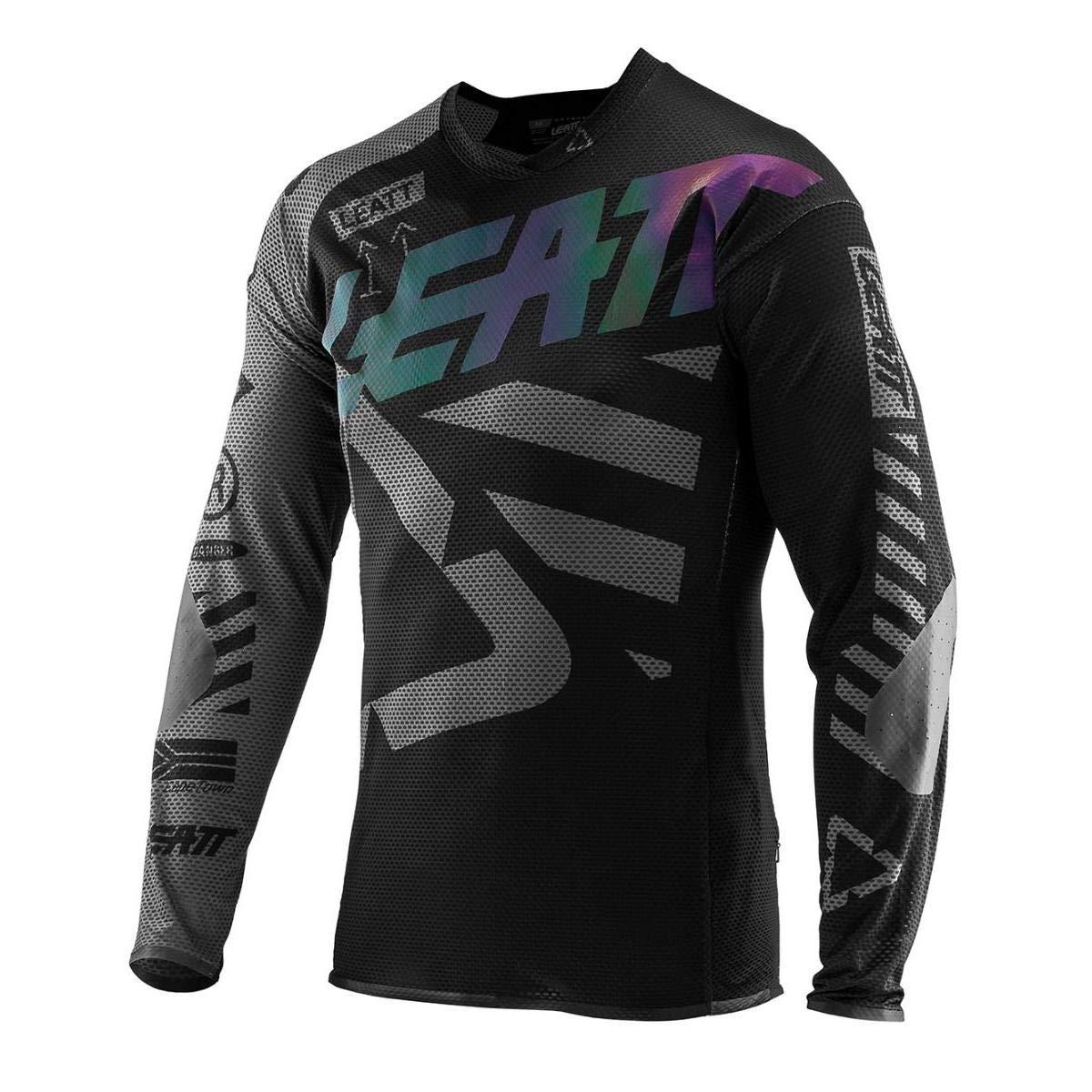 Leatt Downhill-Jersey DBX 4.0 Ultraweld Schwarz Gr. S