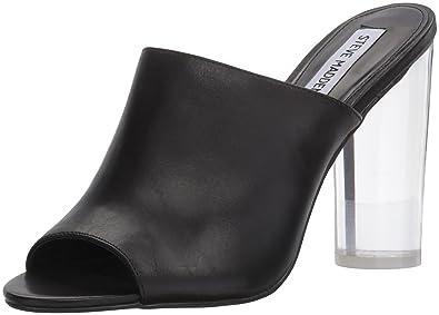 69e485f32de Steve Madden Women s Classics Mule Black Leather 9.5 M US
