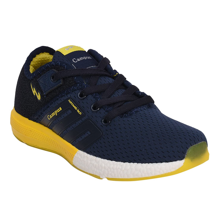 Campus Boys' Blue Walking Shoes - 4 UK