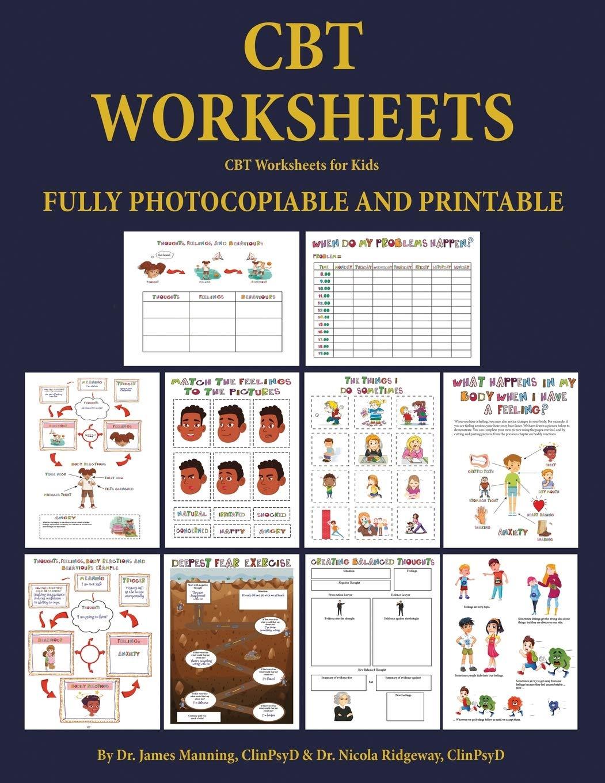 - CBT Worksheets For Kids (CBT Worksheets): CBT Worksheets For Child