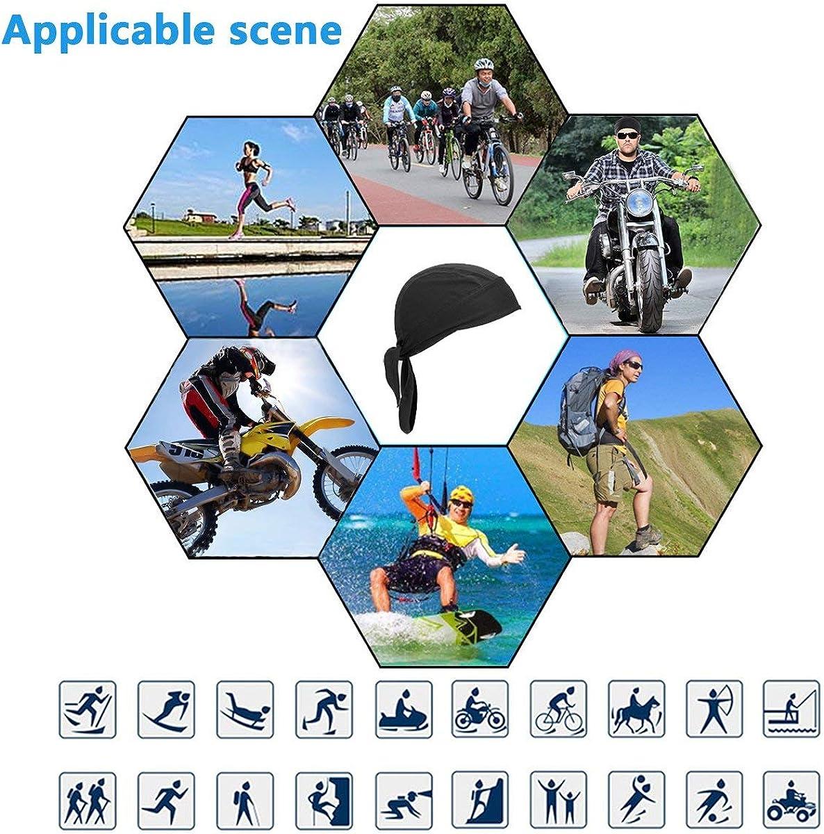 Details about  /Schweißableitende Mütze Hut Schädelkappe für Männer Frauen Radfahren Laufen
