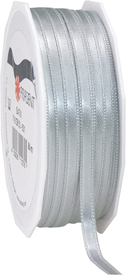 25m Full Reel Double Faced Satin Ribbon 3mm 6mm 10mm 15mm 25mm Width50m