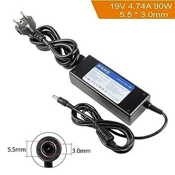 FSKE 90W 19V 4.74A Cargador Adaptador para Samsung NP300E5A NP350V5C R39 R410 R540 R20 R530