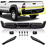 Titanium Plus Autoparts, 2005-2013 Fits For Toyota Tacoma Rear Step Bumper Assy BLACK