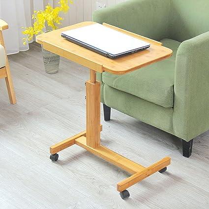 Folding Desk Escritorio Plegable de la computadora, Soporte movible del Ordenador portátil de la rotación