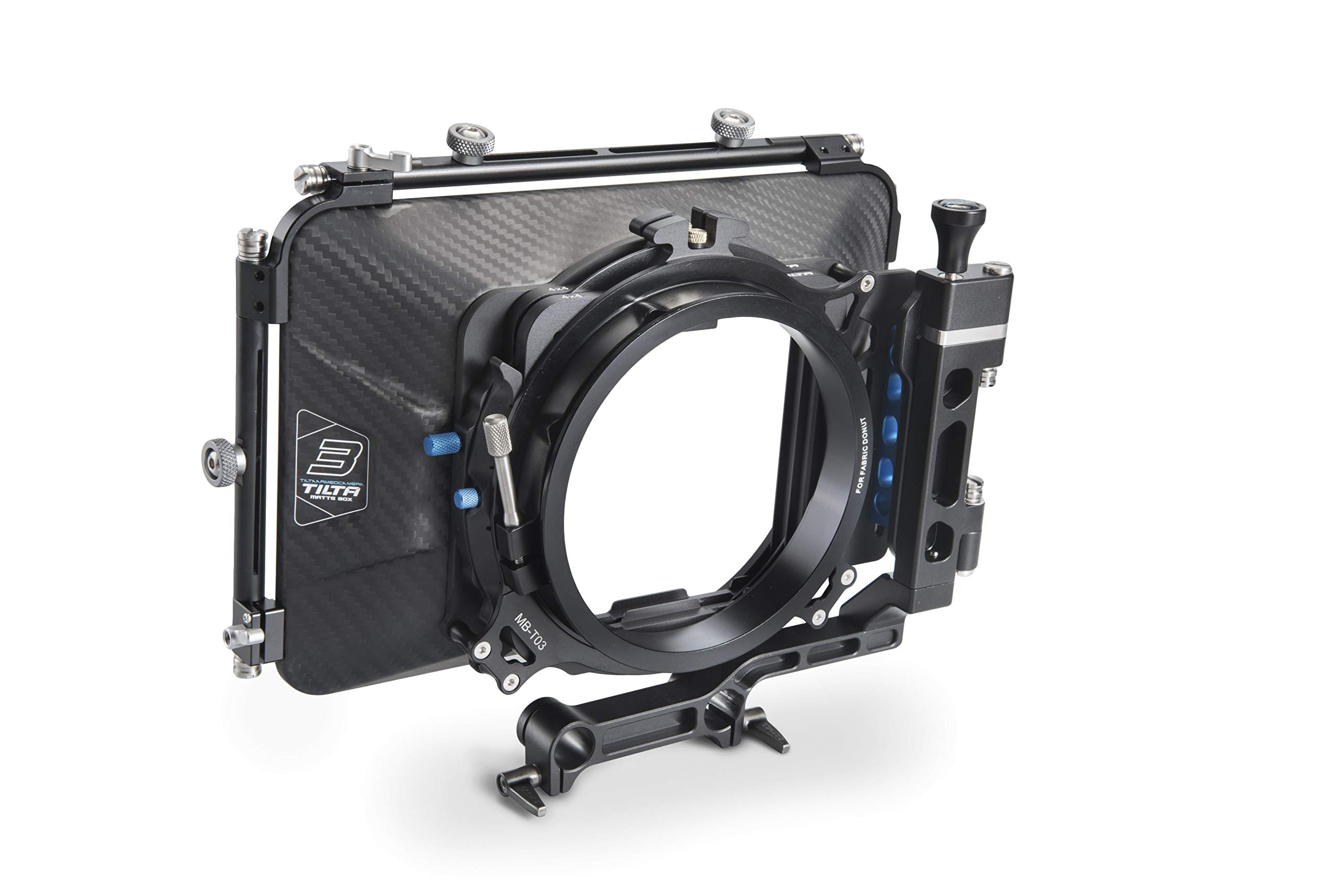 TILTA MB-T03 4×4 Carbon Fiber Matte Box MB-T03,4×4 Carbon Fiber Matte Box for 15mm Rod Support Rig DSLR HDV 5D3 D800 C300 BMCC by Tilta