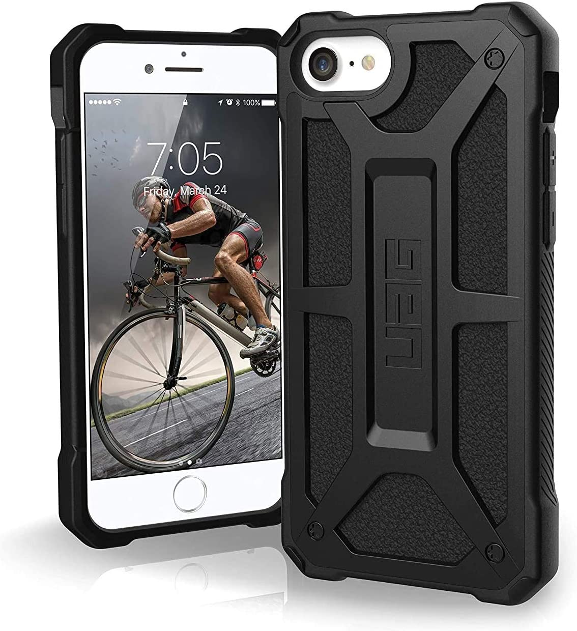 Urban Armor Gear UAG Designed for iPhone SE 2020 Case Monarch