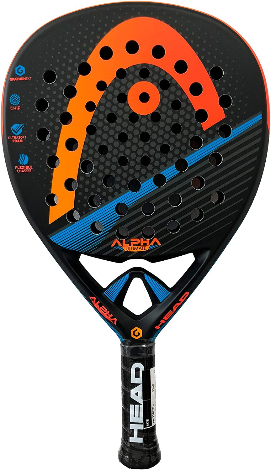 Head Pala Graphene XT Alpha Ultimate Orange