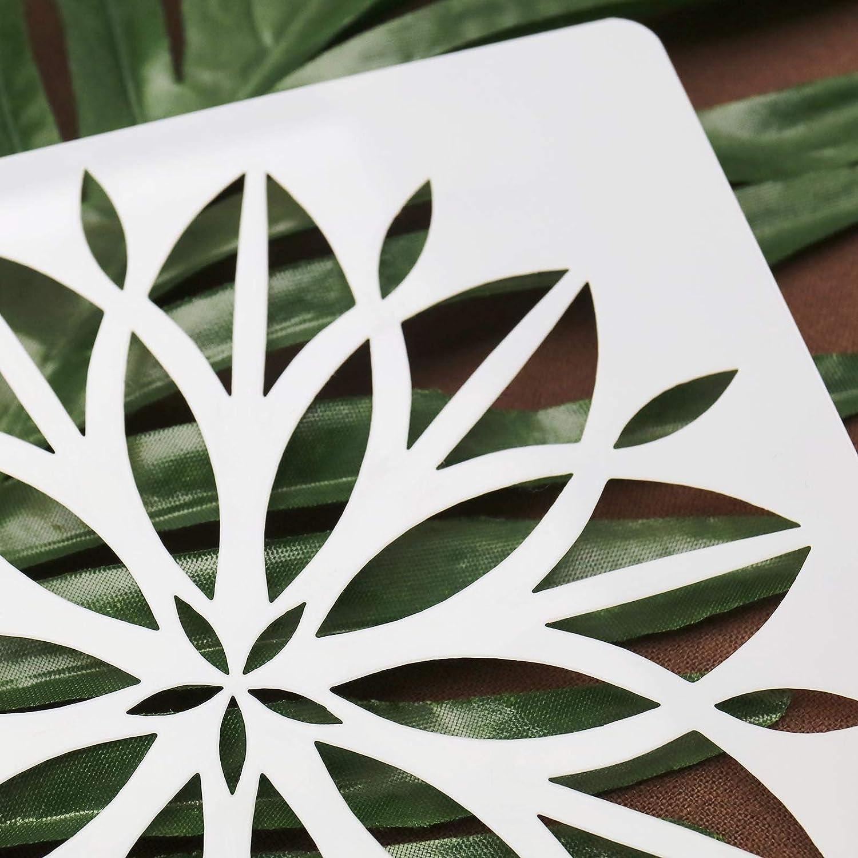 Create Idea Set mit 13 Schablonen f/ür Wand DIY Zeichnung Schablone Dotting Schablone Kunst Basteln Malerei Punktmalerei