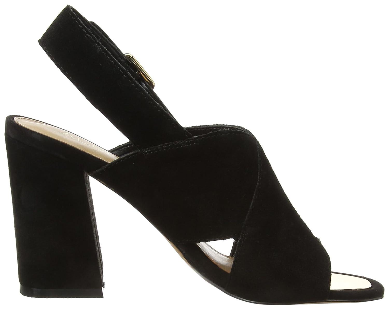 Black sandals ebay uk - 4 Uk Black Black Suede 91 Aldo Women