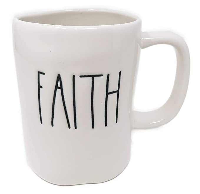 Rae Dunn by Magenta FAITH Ceramic LL Coffee Mug