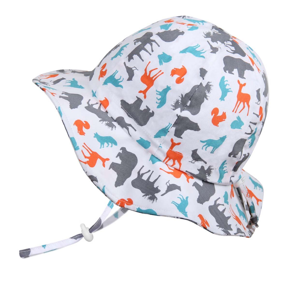 Jan /& Jul Boys 50+UPF Breathable Cotton Sun-Hat with Adjustable Chin-Strap for Baby Toddler