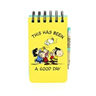 Snoopy Peanuts Vintage A6 Reporter Notebook