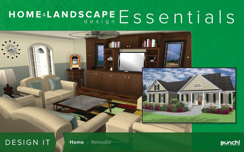 Punch home landscape design essentials v18 download amazon for Punch home landscape design professional v18