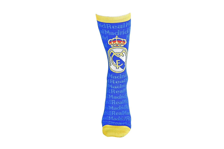 Real Madrid Socks Blue with Gold Trim Maccabi Art