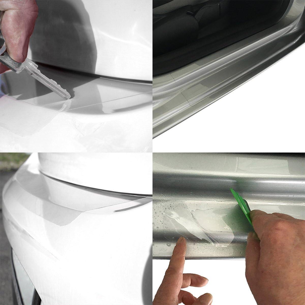 Tuneon Folienset Transparent Für Ladekanten Einstiegsleisten Für V Klasse W447 Auto