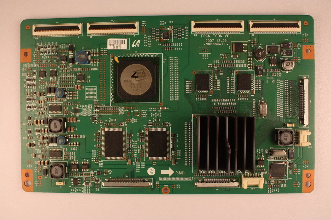 Samsung 46 Ln46a650 Lj94 02347j Lcd T Con Control Circuit Board For Tv Timing Unit Everything Else