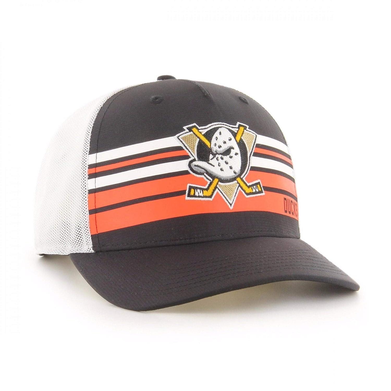 47Brand MVP Adjustable Cap Anaheim Ducks H-NTRZN25OFV-BK Schwarz