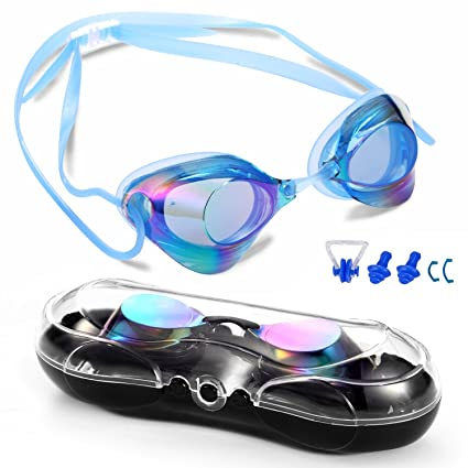 198b1916f34 Amazon.com   Braylin Swimming Goggles for Adult Men Women Youth Kids ...