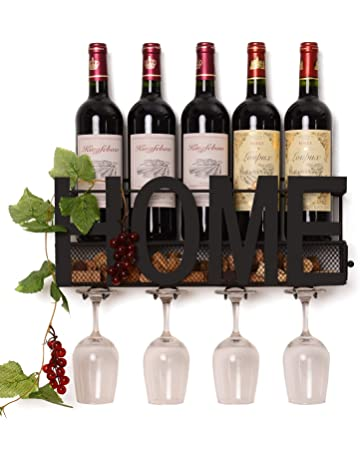 Wall Mounted Corner Wine Rack For Kitchen With Glass Door Kitchen