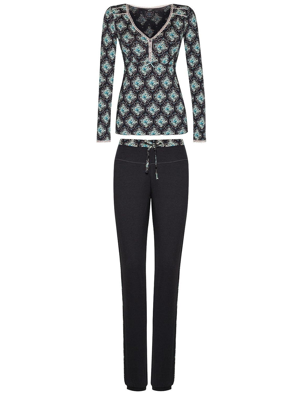 Vive Maria Cottage Pyjama schwarz/Allover-Print