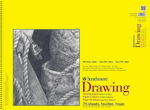 Dibujo Papel De boceto de dibujo Artist Paper 300 Strathmore