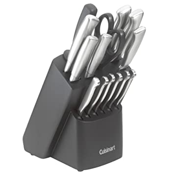 Cuisinart Kitchen Choice 17 Piece Stainless Steel Forged Cutlery Set