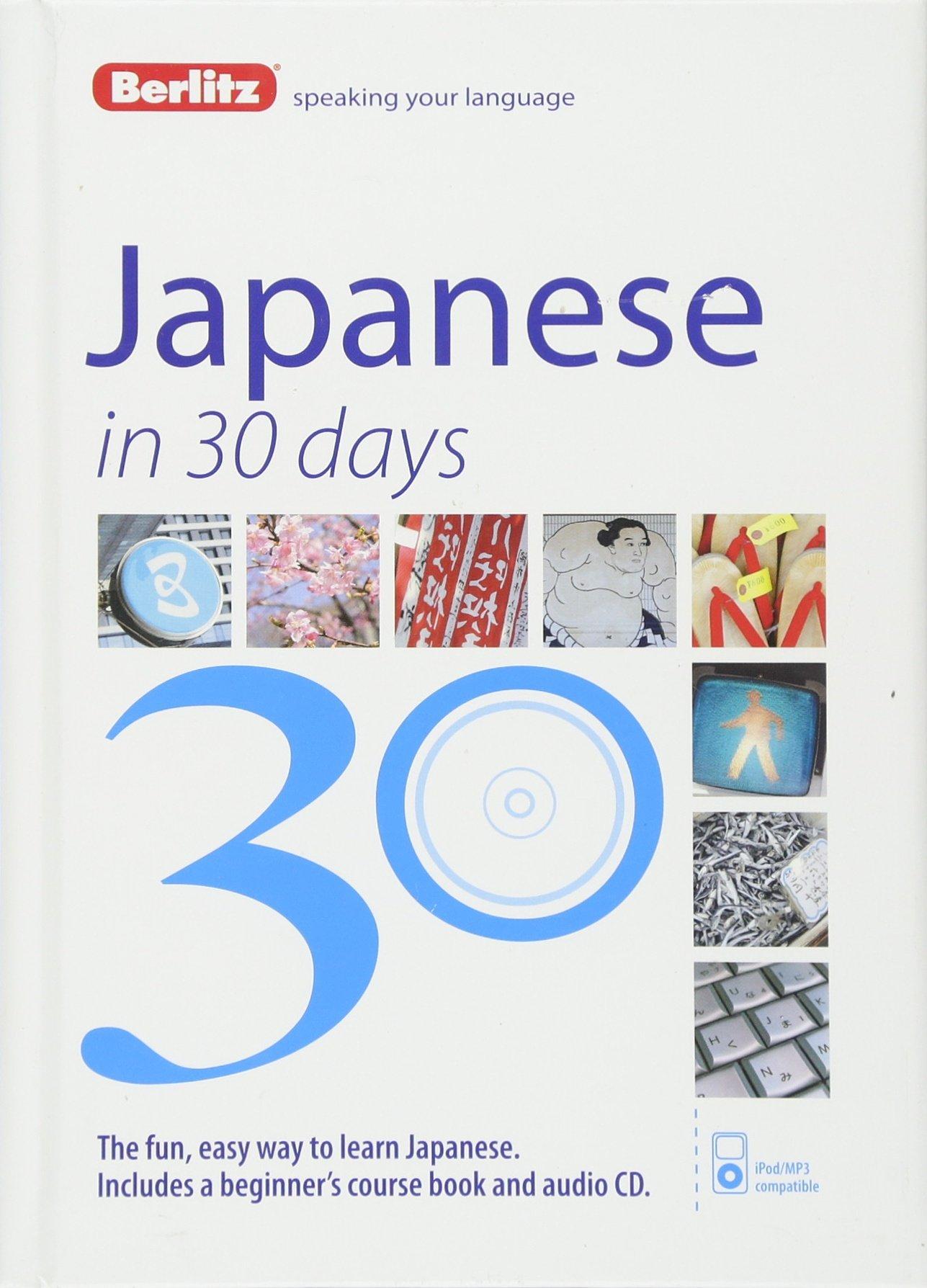 Amazon Berlitz Japanese In 30 Days 9781780044293 Berlitz
