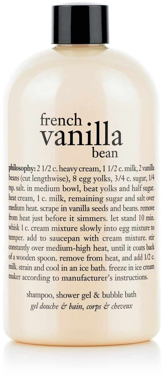 Amazon Philosophy French Vanilla Bean Ice CreamShampoo Shower Gel And Bubble Bath Product Sets Beauty