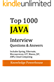 Top 1000 Java Interview Questions: Includes Spring, Hibernate, Microservices, GIT, Maven, JSP, AWS, Cloud Computing (English Edition)