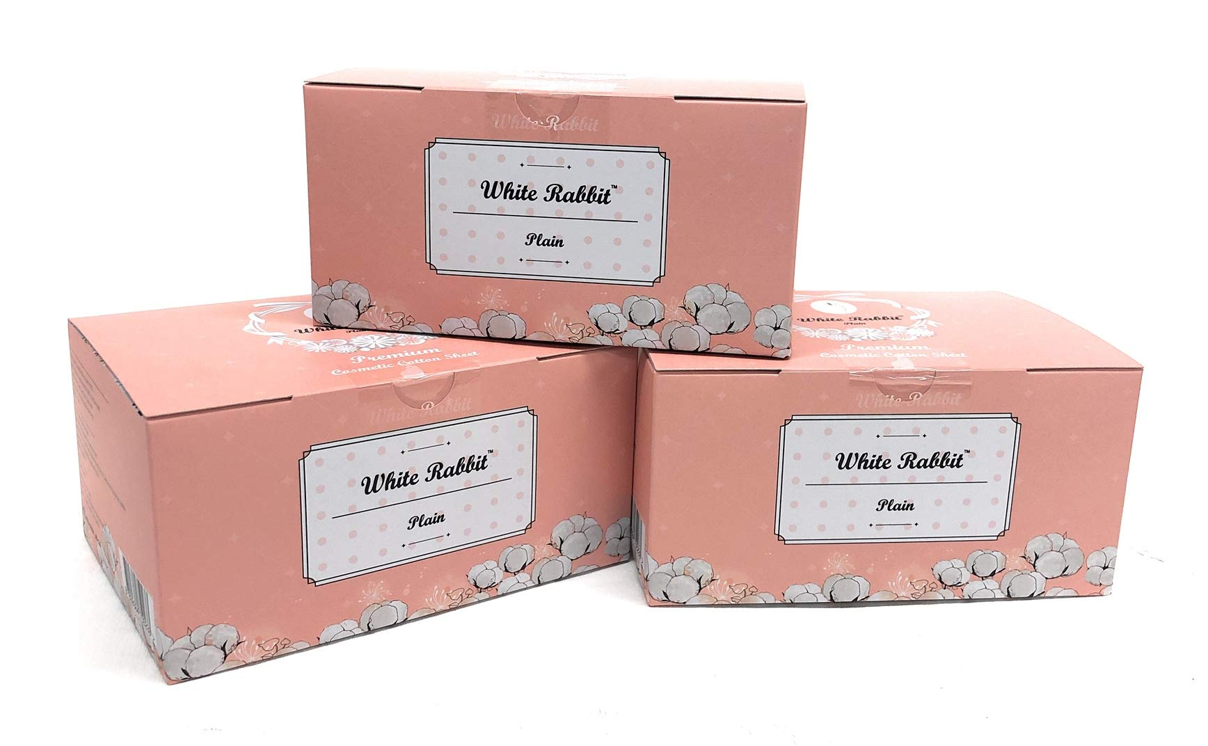 White Rabbit Premium Cotton Pad Authentic Korean 100% cotton- box of 200 cotton Pads