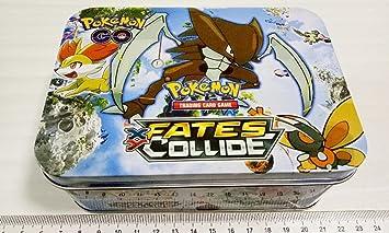 POKEMON. (BOX-CAJA METALICA) 60 CARTAS: Amazon.es: Juguetes y juegos