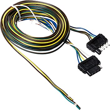 Amazon.com: Wesbar 707105 25' Wishbone Trailer Wiring Harness Kit with  Hardware: Automotive | Wiring Harness For Car Trailer |  | Amazon.com