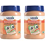 Veeba Thousand Island Sandwich Spread, 280g (Pack of 2)