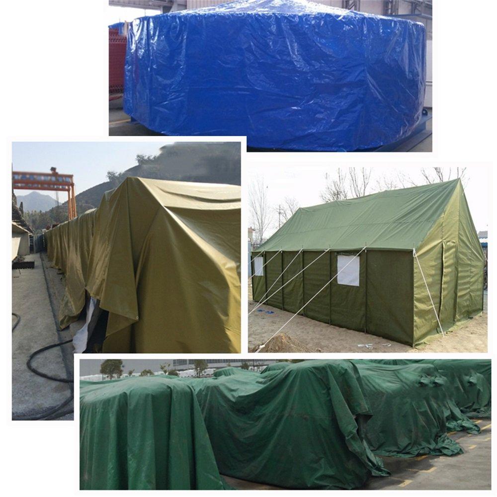 YL Home Acampar Al Impermeable Aire Libre Sombrilla De Lona Impermeable Al Protector Solar Toldo Al Aire Libre Dosel Lona De Lona Doble Capa del Ejército Verde A++ (Tamaño : 2MX1.5M) 1e6bd6
