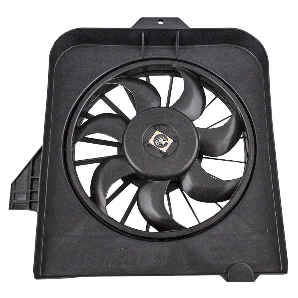 Passengers AC A//C Condenser Cooling Fan Assembly Replacement for Dodge Caravan Grand Caravan Chrysler Town /& Country Voyager 4809170AE