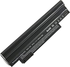 AC Doctor INC 5200mAh 11.1V 6 Cell AL10A31 Battery for Acer Aspire one 722 D255 D257 D260 D270 eMachines 355 Black