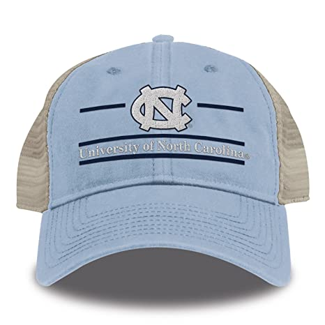 the best attitude 21ba2 3d9a3 Buy The Game NCAA North Carolina Tar Heels Split Bar Design Trucker Mesh Hat,  Columbia Blue, Adjustable Online at Low Prices in India - Amazon.in