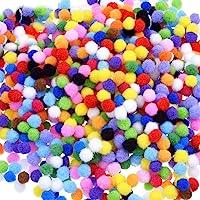 1000 stuks 10mm Pom Poms Cheerleading ballen voor ambachten maken,Hobbybenodigdheden en DIY creatieve ambachten…