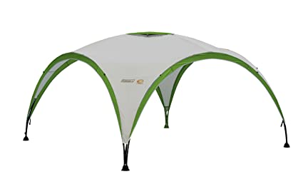 detailed look b808c 91d02 Coleman Gazebo Event Shelter Pro M 3 x 3 m for Festivals, Garden and  Camping, Sturdy Steel Poles Construction, Large Event Tent with Sun  Protection ...