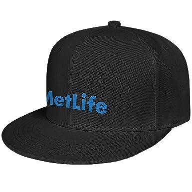 Gorra de béisbol Unisex de Perfil bajo Flexfit Metlife, Sombrero ...