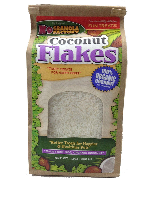 K9 Granola Factory Organic Coconut Flakes, 12 oz