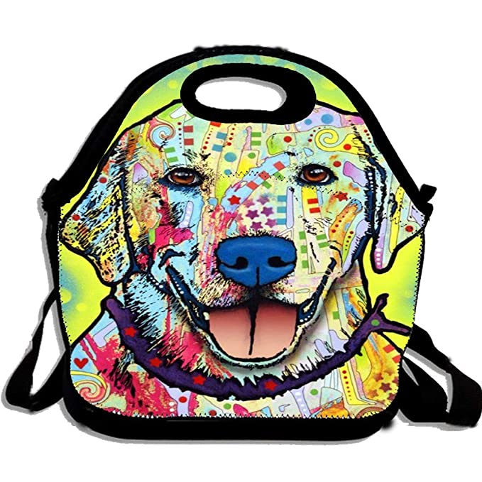 Amazon Com Custom Lunch Bag Abstract Dog Art Package