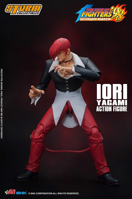 Resultado de imagen para Storm Collectibles King Of Fighter - Iori Yagami